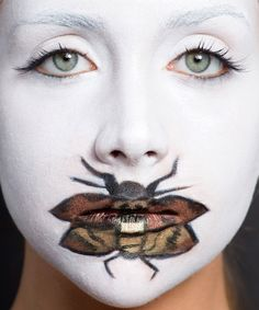 Amazing makeup ideas for Halloween. No costume required. Our motto at Cor Silver has always been put your best face forward so these definitely fit the bill.