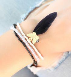 bracelet-plume-papillon-swarovski-2
