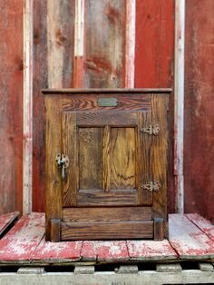 oak ice box makeover | FURNITURE with Flair | Pinterest | Box ...