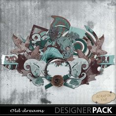 """kit """"Old dreams"""" by Scrap de Yas http://www.mymemories.com/store/display_product_page?id=SDYF-CP-1309-40805"""