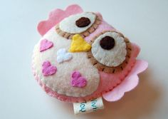 Much Love Eco Friendly Plush Owl Toy