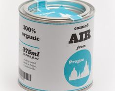 Original Canned Air From Prague by cooperativ on Etsy