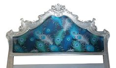 Beautiful Peacock headboard