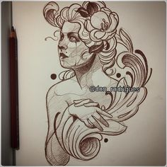 Estudos… ótima noite a tds nos! @ladobestudio #ladobestudio #ladob #art #sketch #pencildrawing #tattoo #donrodrigues #tatuagem #saopaulo #sp #neotrad #artnouveau #neotraditional #donrodriguestattoo