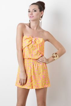 Get ready to romp all day or night long! This romper is under $15