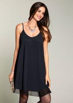 Sexy ale pohodlné :) #dress #party #black #style #fashion #modino_sk #modino_style