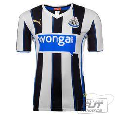 Camisa Puma Newcastle Home 2014 - FutFanatics 8b31d271e865e