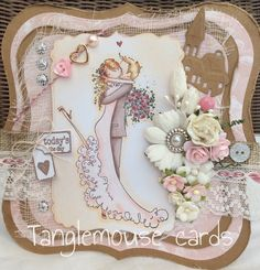 tanglemouse cards: Love Is The Sweetest Thing...