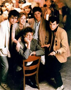 The cast of 'Pretty in Pink'