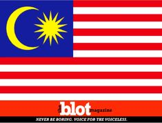 Racist Mistakes Malay Flag for Defaced US Banner, Calls FBI. But an employee at the lake resort didn't like the Malay flag. So they called the FBI, reporting that someone had defaced the US flag with Islamic State Symbols.