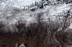Front range of the Rockies rising from Plains as seen from space 4.6.13
