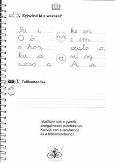 Helyesírás Firka Manóval Minden, Grammar, Math Equations, Logo, Logos, Environmental Print