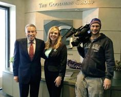 The Soulful CEO John B. Goodman was interviewed by a reporter from Channel 12 - Minneapolis on Dec. 31, 2015.