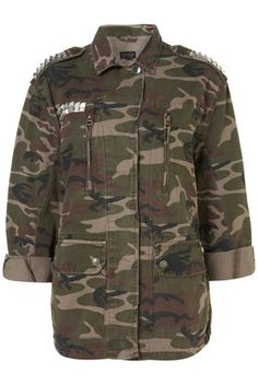 Studded Camo Jacket - Today's craving!
