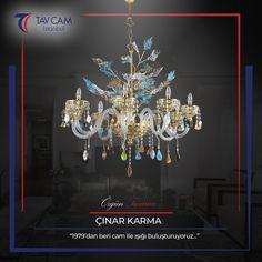 Sıcak cam tekniği ile üretilen Çınar Karma avize, ışıltılı rengini uzun yıllar muhafaza ediyor.🎇  ►https://goo.gl/4mJrL9 #tavcam #tavcamistanbul #avize #avizemodelleri #çınaravize #elemeği #dekorasyon #avizeci #salonavize