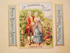 French soap label - I have this one! :-)