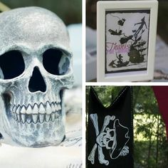 I have skulls from Halloween that would be perfect!