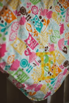 Baby or Children's Blanket with applique - Custom made to order