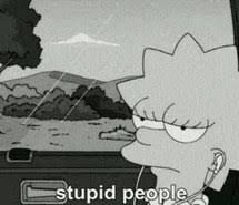 Image result for the simpsons tumblr sad