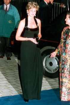 Princess Diana in Catherine Walker