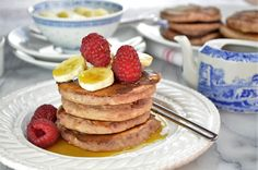 These vegan pancakes are truly delightful. They are fruity, fragrant, and well, simply yummy!