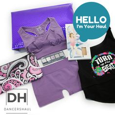 Sold by Dancers Haul dance, dancer, haul, monthly subscription, pose, dance photography, makeup, shirt, dwc tights