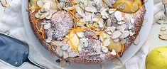 Gluten Free Orange Almond Pear Cake
