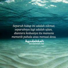 Hidup ini adalah ujian Salam Jumaat Quotes, Quran Quotes, Great Quotes, Me Quotes, Motivational Quotes, Inspirational Quotes, Reminder Quotes, Self Reminder, Muslim Quotes