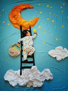 Wengenn in Wonderland. Artist and mother of three, Queenie Liao imagines what her son might be dreaming of during his naptimes. These are so cute and artfully crafted!