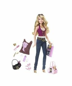 Hilary Duff Shopping Doll by Mattel. $22.99. Hilary Duff Shopping Doll. Shopping is even more fun when your pet comes along, so each doll also comes with a dog and a dog carrier. Each trend setting doll is dressed in the latest fashions and comes with a Barbie branded t-shirt and accessories. From the Manufacturer                Recording artists, TV and film stars and philanthropist sisters Hilary and Haylie Duff love to shop! Each trend setting doll is dressed in the lates...