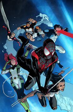 Spider-Man and X-Men by Mahmud Asrar #X23 #XForce #Mutants