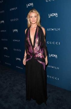 #RosieHuntington-Whiteley, wearing Gucci, attends the LACMA 2013 Art + Film Gala honoring Martin Scorsese and David Hockney presented by Gucci at #LACMA on November 2, 2013 in Los Angeles  http://celebhotspots.com/hotspot/?hotspotid=5580&next=1