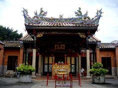 Малайзия. Пенанг. Крыша Храма Змей.