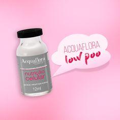 Ampola Nutrição Celular Acquaflora, nutre, hidrata e reconstrói a fibra capilar em cinco minutinhos! #acquaflora #lowpoo #cabelos #tratamentocapilar