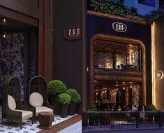 208 Duecento Otto restaurant by Autoban, Hong Kong hotels and restaurants