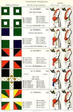régiments d'infanterie 21 à 25