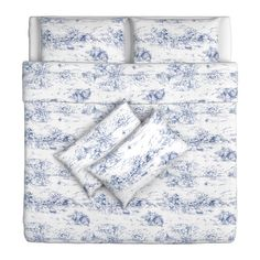 EMMIE LAND Quilt cover and 2 pillowcases - 240x220/50x80 cm - IKEA