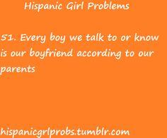 Hispanic Girl Problems