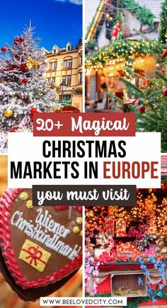 Discover the best Christmas markets in Europe! Christmas markets in europe | European christmas markets | christmas markets in france | christmas markets in Germany | beautiful christmas markets | Christmas in Europea | Europe for Christmas | Europe in Winter | Europe in december | Things to do in europe for christmas