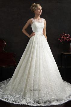 Lace A Line 2015 Maritza Wedding Dresses Bridal Gowns Amelia Sposa.