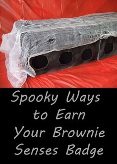 What's spookier than the sights and sounds of Halloween? Here are 5 great ways (plus a few bonus ideas) on how your Brownies can earn their Senses badge and celebrate Halloween.