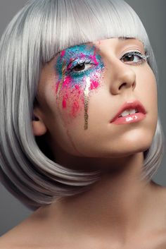 I want my make-up to be like that everyday ;)