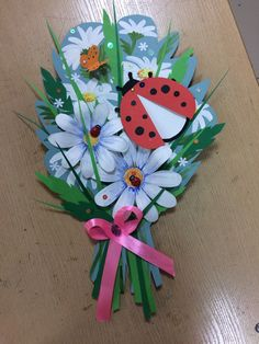 Summer Camp Crafts Spring Crafts For Kids Camping Crafts Art For Kids School Decorations Pre School Mothers Day Crafts Preschool Flower Crafts Hobbies And Crafts Mothers Day Crafts Preschool, Valentine's Day Crafts For Kids, Hobbies And Crafts, Art For Kids, Bee Crafts, Craft Stick Crafts, Flower Crafts, Paper Crafts, Valentine Crafts For Kids