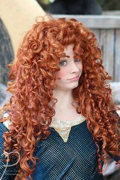 love her facial expressions Beautiful Redhead, Beautiful Long Hair, Princess Merida, Disney Princess, Redhead Art, Walt Disney Parks, Long Red Hair, Disney Face Characters, Disney Cosplay