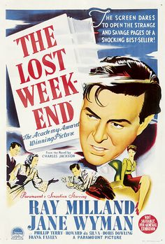 18th Academy Awards Best Picture Winner - The Lost Weekend - Mar 7, 1946