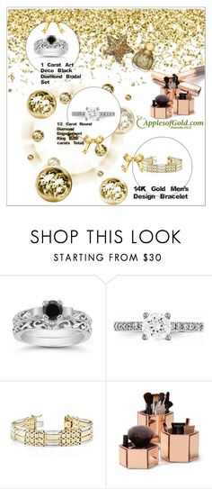 """""""ApplesofGold.com - Shine Bright Like A Diamond"""" by emina-095 ❤ liked on Polyvore featuring Black Diamond, Apples of Gold and Fountain"""