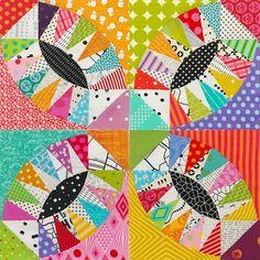 "1,050 gilla-markeringar, 51 kommentarer - Emma Jean Jansen (@emmajeanjansen) på Instagram: ""I am having so much fun making this quilt, it's slow going but I love the way the blocks are…"""