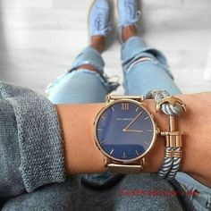 Blue like the ocean --> our Sailor Line Blue Lagoon! - - Blue like the ocean --> our Sailor Line Blue Lagoon! Trendy Watches, Cool Watches, Jewelry Accessories, Fashion Accessories, Fashion Jewelry, Cheap Jewelry, Cool Summer Outfits, Fashion Mode, Dress Fashion