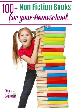 A list of great non-fiction books for your homeschool. As homeschool moms our primary focus is to educate our children.So, here are 100 non-fiction books for your homeschool. Math Books, Science Books, Reading Resources, Book Activities, Activity Ideas, Reading Lists, Books For Boys, Childrens Books, Homeschool Blogs