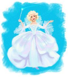 Cinderella - Fairy Godmother by DylanBonner on DeviantArt